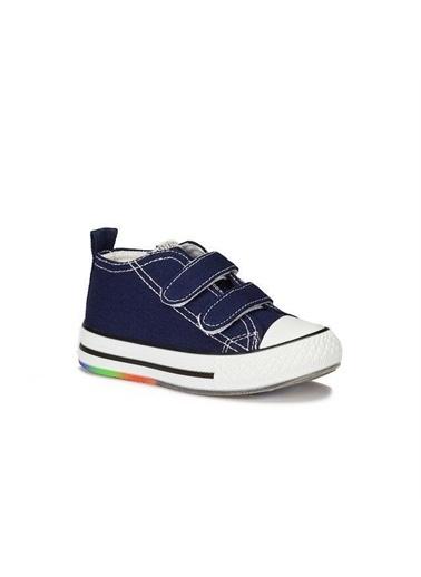 Vicco Vicco 925.20Y.150 Günlük Işıklı Kız/Erkek Çocuk Keten Ayakkabı Lacivert